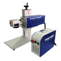 Portable 60w Cnc Laser Marking Machine Jeans Wood Leather Support Beautiful Manufactures