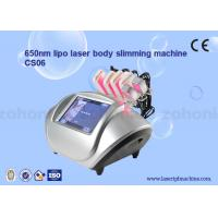 S06 diode lipo laser Cryolipolysis Slimming Machine / Low Level Laser Therapy Manufactures