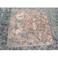 Nature Red Granite Stone Tiles / Granite Tiles For Bathroom Floor Manufactures