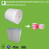 China PE coated paper cup raw material in roll/sheet on sale