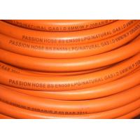 Fiber Braided Reinforced LPG Gas Hose Pipe ,  1 / 4  Gas Hose Smooth Surface Manufactures
