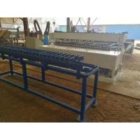 PLC Panasonic Automatic Wire Mesh Welding Machine For Mesh Size 50x200mm Manufactures