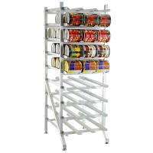 China Dispensing Canned Food Heavy Duty Storage Racks , Metal Frame Wire Storage Racks on sale