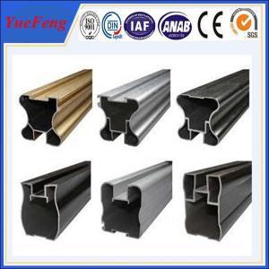 6063 t5 aluminium double sliding windows, extruded aluminium for sliding window Manufactures