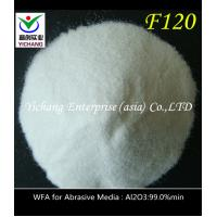 China Alkali Resistance White Corundum Used In Etching Medical And Dental Parts on sale