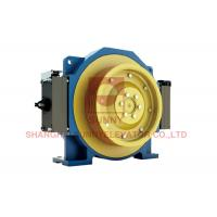 Elevator Traction Motor / Gearless Lift Traction Machine Load 630~1150kg Manufactures
