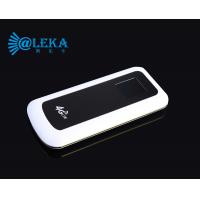 Buy cheap globle roaming travel wifi router 8000mAh battery lte pocket hotspot private housing from wholesalers