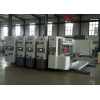 Automatic Flexo Printer Slotter Machine 1 - 4 Colors Printing Fit Carton Box Manufactures
