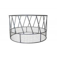 Standard Round Bale Ring Feeder 2285mm Dia X 1150mm High 670mm Deep Welded Base Manufactures