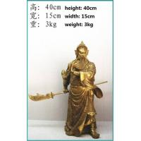 Quality Chinese bronze craft Guangong for sale