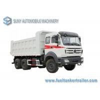 Buy cheap 336 hp Beiben North Benz 6x6 Heavy Duty Dump Truck All Hand Drive from wholesalers