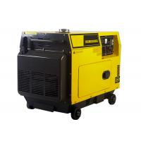 China 5KW AC Single Phase Power Small Portable Diesel Generator Electric Start on sale