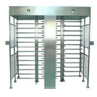 China Double gate security full height turnstile wholesale