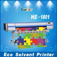 Eco-Solvent Printer Wide Format Inkjet Printing Machine with Fast Speed,8 Colors,1.8m wide Manufactures