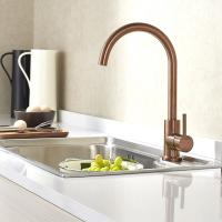 PVD coating copper color surface Kitchen water faucet for sink stainless steel faucet Manufactures