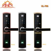 China Touch Keypad Fingerprint and IC Card Access Control Door Lock and Remote Controller on sale
