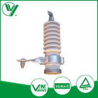 9KV White Color Gapless Lightning Protector With Porcelain Housed Manufactures