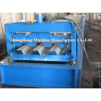 Building Metal Floor Deck Roll Forming Machine Manual Decking Forming Machinery Manufactures
