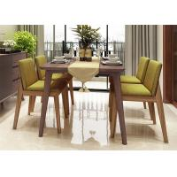 China Hotel Small Kitchen Table And Chairs , Comfortable Beech Wood 4 Chair Dining Table on sale