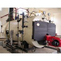 China Horizontal Low Noise 0.5 Ton Oil fired Steam Boilers with Lateral Cut Tube on sale