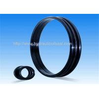 Black Drift Oil High Pressure Seals , 60-72HRC Hardness Rubber Oil Seal Manufactures