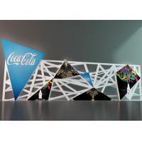 Indoor Triangle Shape LED Screen Creative Triangle LED Video Wall Display Manufactures