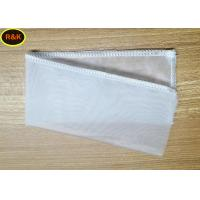 Customized Size 100 Micron Nylon Filter Bag For Milk Filter , Small Filter Media Bags Manufactures