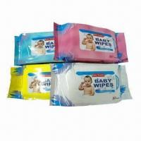 Baby Wipes for Cleaning, Made of Hot Cloth, Measuring 14 x 18cm Manufactures