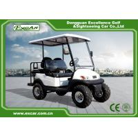 EXCAR 48V 2 Seater Electric Hunting Golf Carts Intelligent Onboard Charger Manufactures