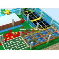 Gymnastic Attractive Trampoline Exercise Equipment Fun Exciting Solid Wood Bridge Manufactures