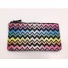 Buy cheap Multi Color 6oz Canvas Women'S Makeup Bag , Waterproof Toiletry Bag 21.5*11.5cm from wholesalers