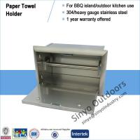 China Stainless Steel Paper Towel Holder Outdoor Island BBQ Kitchen on sale