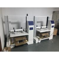 Quality Computer Servo Packaging Compression Strength Testing Machine , Single-screen for sale