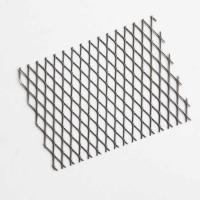 China 1/4 #20 Carbon Steel Expanded Metal Mesh Standard For Containers for sale
