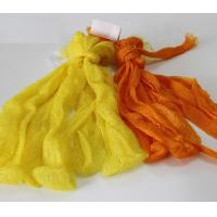 Yellow HDPE Fruit And Vegetable Mesh Net Bag Packing Manufactures