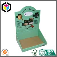 Glossy Color Printing Corrugated Display Stand; Cardboard Display Box Manufactures