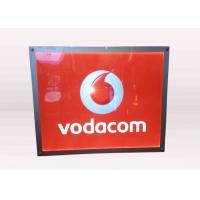 A3 Size Vodafone Acrylic Frameless Crystal LED Light Box Advertising Display Manufactures