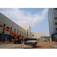 Prefabricated Multi - Storey Steel Structure Office Nice Appearance Modern Design Manufactures