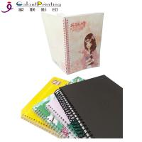 A5 PU Leather Daily Weekly Custom Planner Printing Service Thread Sewing Binding Manufactures