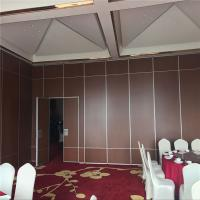 Meeting Room Acoustic Movable Partitions Sliding Folding Partition Walls For Conference Hall Manufactures