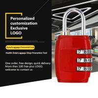 Customized Mechanical Password Padlock For Zipper / Storage Boxes / Gym Lockers Manufactures