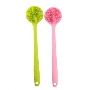 China OEM Logo Hygienic Exfoliate Cleaning Silicone Shower Brush on sale
