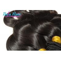 White Girl Eurasian Virgin Hair Weave Wine Red / Brown Hair Extensions Manufactures