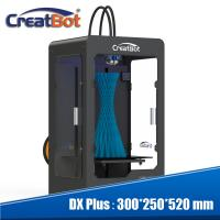 Quality Professional CreatBot DX Plus Large Scale 3D Printer 350 Degree Max Extruder for sale