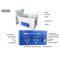 Heated Digital Ultrasonic Jewelry Cleaner 15L For Jewelry Cleaning Manufactures