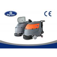 Classical Compact Commercial Floor Scrubber Dryer Machine For Airport / School Ground Manufactures