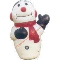 7m Hot-selling Giant Inflatable Human Snow For Christmas Promotion Manufactures
