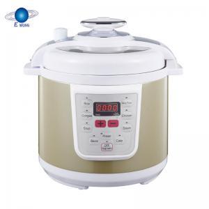 Porridge Power Electric Pressure Cooker Non Stick Coating Inner Pot Smart Control Manufactures