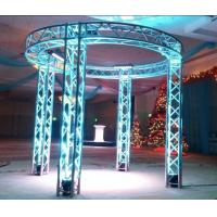 Party DI Aluminum Stage Lighting Truss ARC / Ladder / Triangular / Square Shape Manufactures