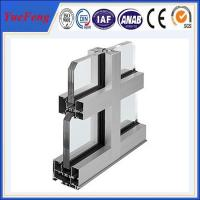 Hot! high quality aluminum curtain wall systems, aluminum extrusions for curtain wall Manufactures